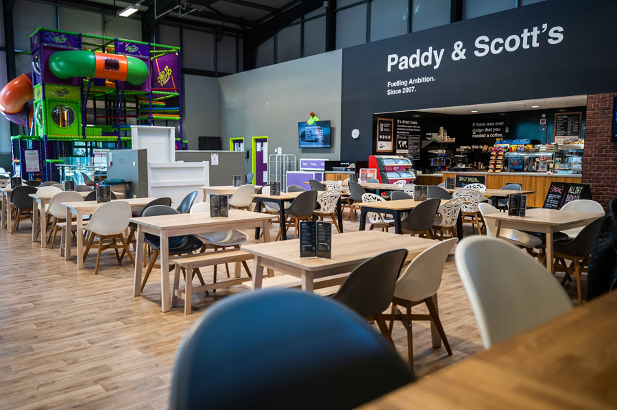 Come check out our new Paddy & Scott's Cafe - it's the largest in the world!